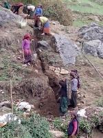 les travails pour l'eau potable